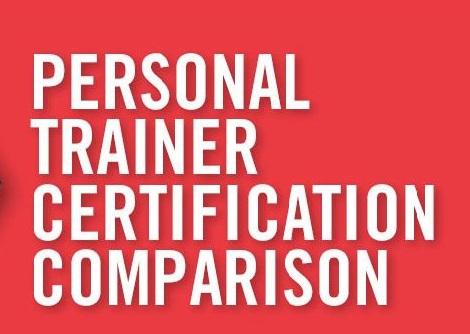 Certification Comparisons ACE vs. NASM