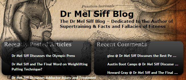 Dr Mel Siff