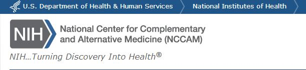 National Center for Complementary and Alternative Medicine (NCCAM)